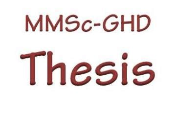 Writing and defending a thesis Thesis
